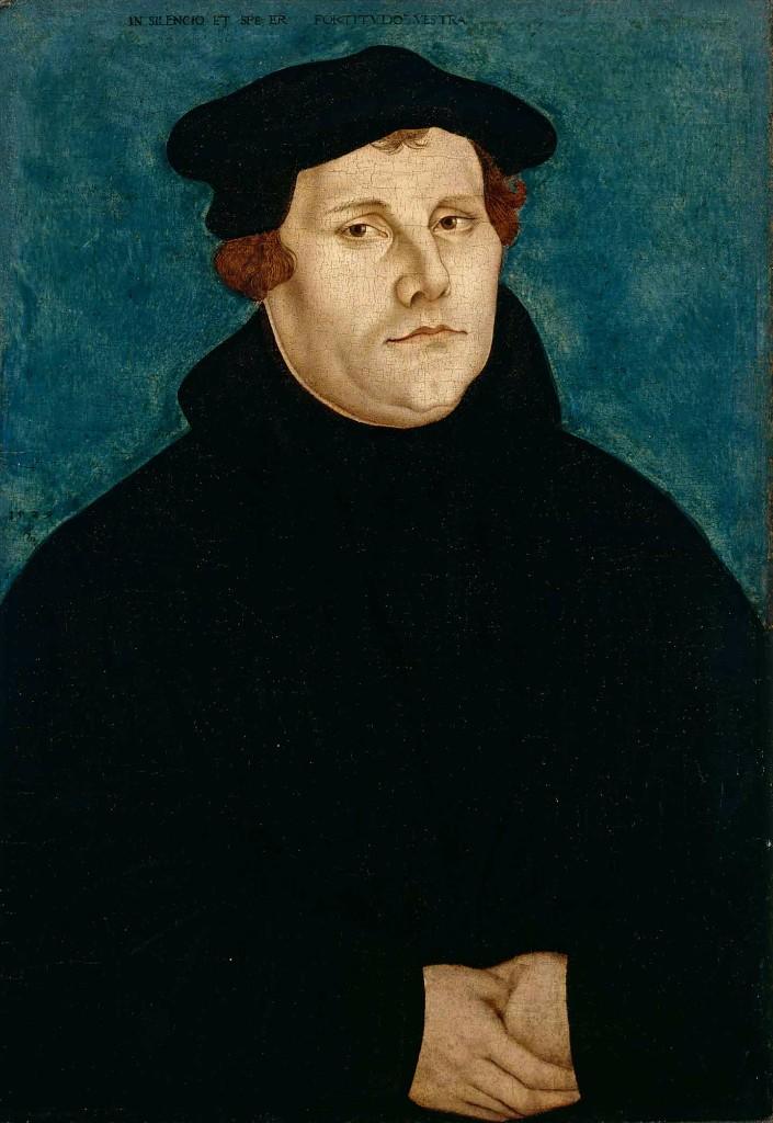 Scopio - Martin Luther - Lucas Cranach der Ältere (1529).
