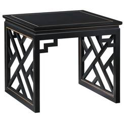 Photo Courtesy Of Kindel Furniture Frettework Adds A Clean Geometrical  Look, Consider The Square Trellis Lamp Table. These Furniture Pieces Are  Spanking New ...
