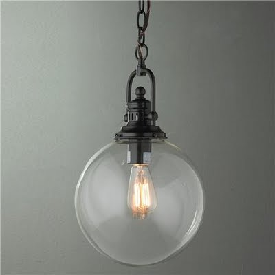 The Old Ball And Chain Round Pendant Hanging Fixtures