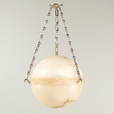 Light glows beautifully when cast from alabaster. The Greenwich Globe from Vaughan has Greek key detailing a classic chain link suspension and a beautiful ... & THE OLD BALL AND CHAIN: ROUND PENDANT HANGING FIXTURES u2014 www ... azcodes.com