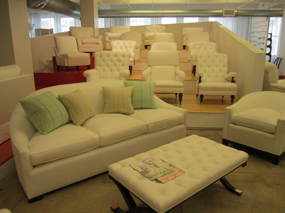 Stadium Seating Holds Rows A Variety Of Custom Upholstered Chairs