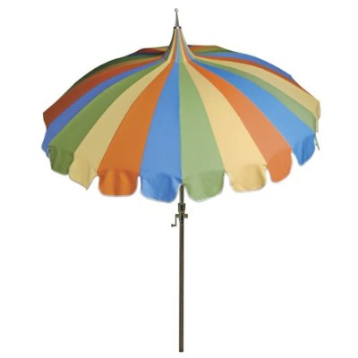 The Pagoda Patio Umbrella From Target Would Work Well With Furniture And  Accessories From Garden House.