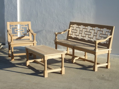 Chair+&+bench+Nozay+in+white+aok+natural+finish.jpg