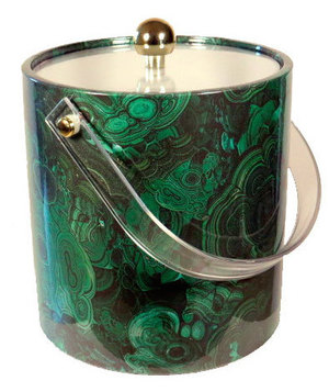 MALACHITE ICE BUCKET