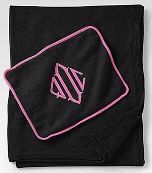 MONOGRAM CASHMERE TRAVEL BLANKET