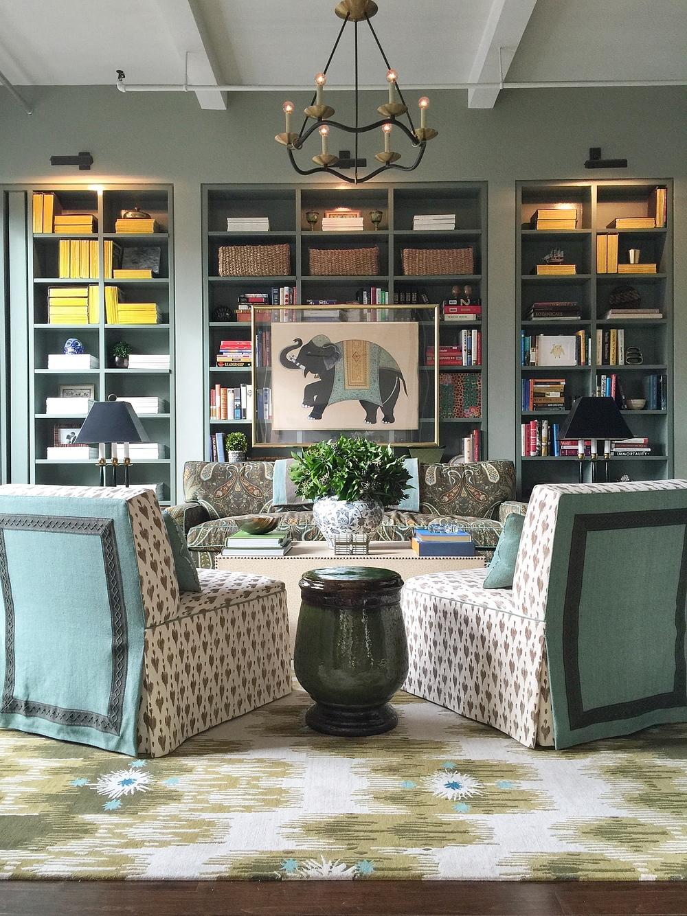 Farrow And Ball Card Room Green Sofa