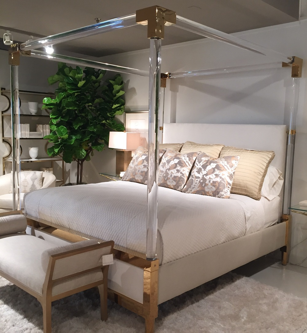 How To Use A Four Poster Bed Canopy To Good Effect: THIS BED WAS THE TALK OF 2015 FALL HIGH POINT MARKET