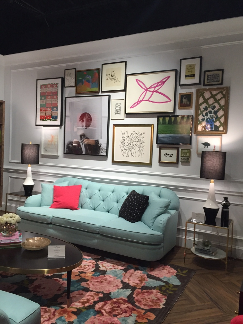... Kate Spade New York Made A Big Debut, Launching Furniture At High Point  Market. It Was The Talk Of The Town, As Editors, Buyers And Interior  Designers ...