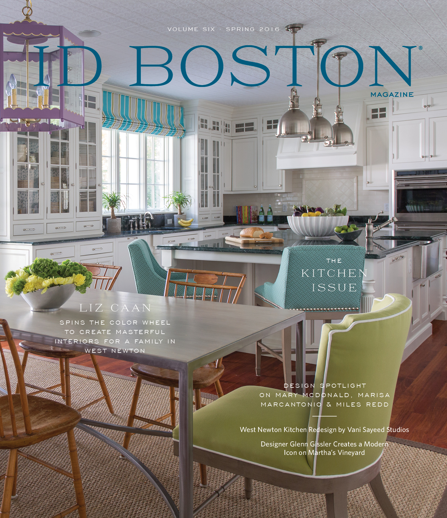sharing the latest greatest decor trends with id boston magazine