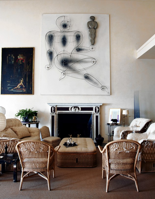 Channel Agnelli Style Try Using Wicker Furniture In Your Living Room Www Stylebeatblog Com