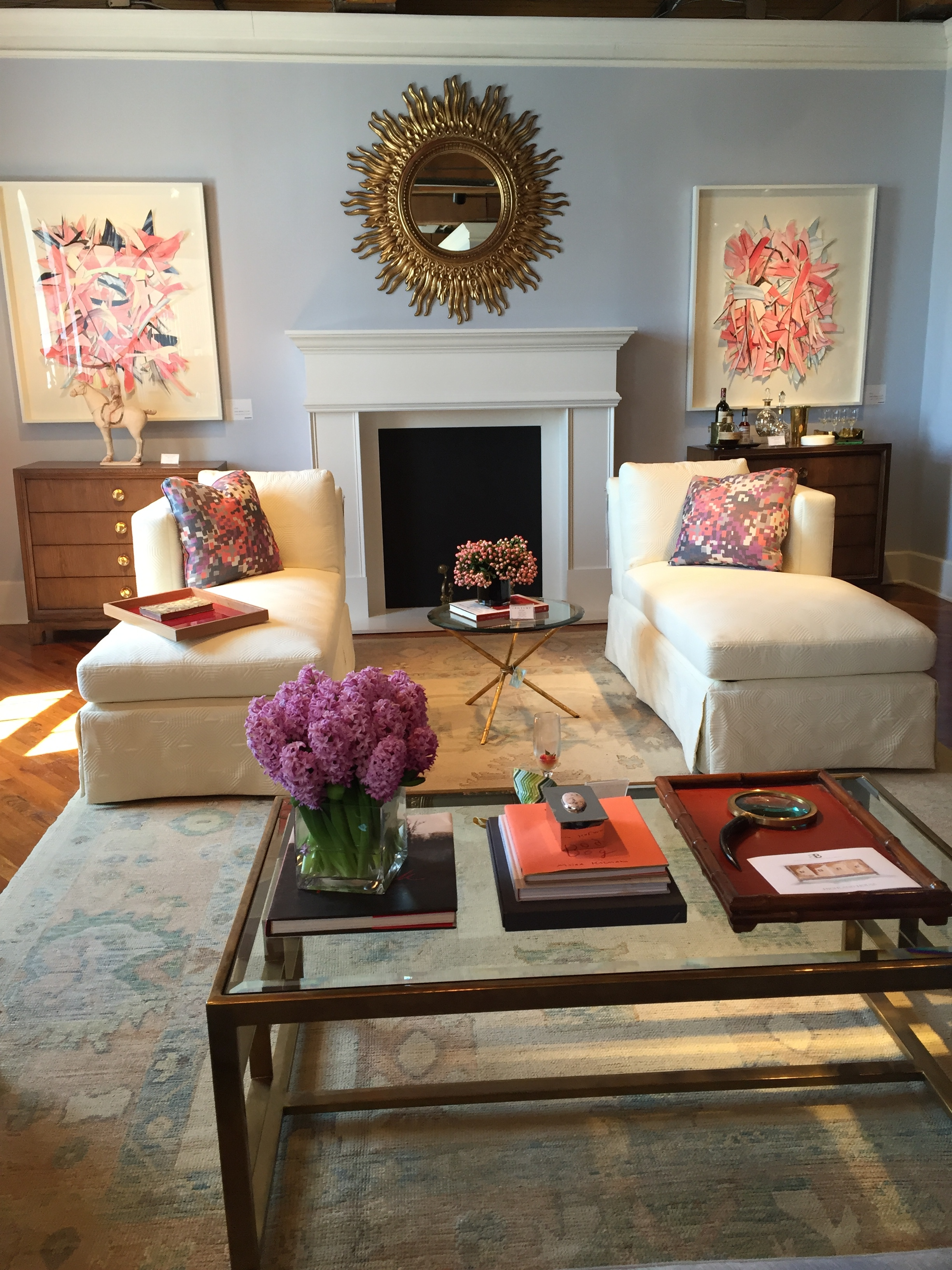 launch in High Point was that of stylish Interior designer Barrie  Benson  who recently debuted a 12 piece furniture collection with Highland  House. A DESIGN COLLABORATION BY BARRIE BENSON FOR HIGHLAND HOUSE   www