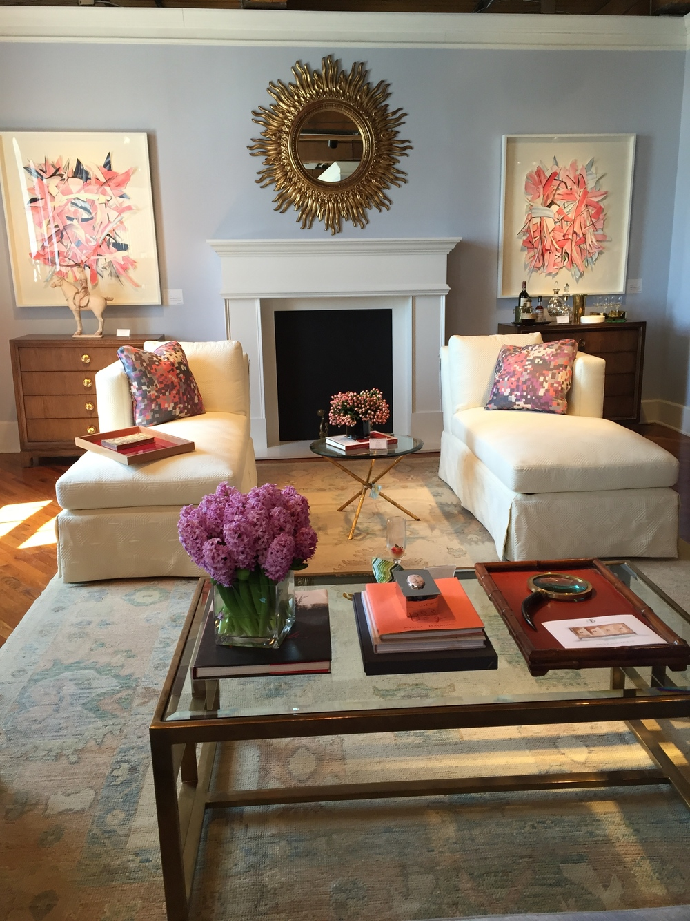... Launch In High Point Was That Of Stylish Interior Designer Barrie  Benson, Who Recently Debuted A 12 Piece Furniture Collection With Highland  House ...