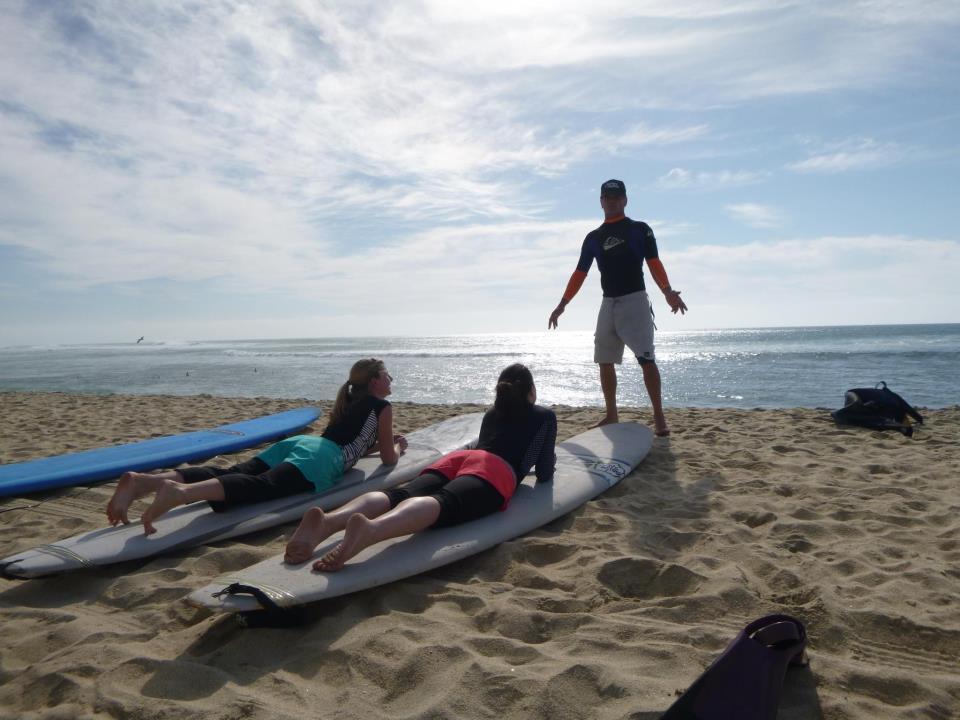 Photo courtesy of Paskowitz Surf Camp
