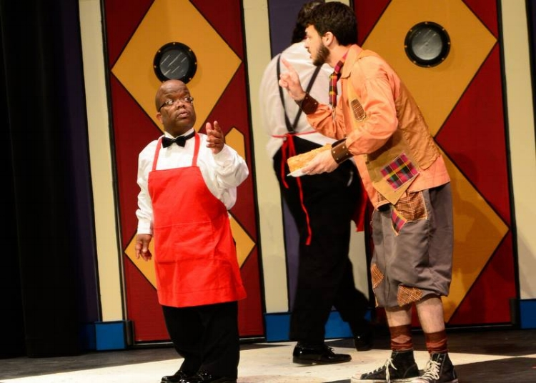 Kerry Townsend, in his theatrical debut, alongside myself.
