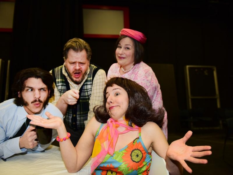 Myself, Daniel Rohr, Laura Marsolek, and Virginia Rohr