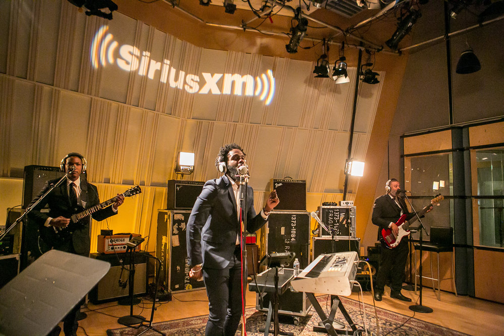 Washington DC | Sirius Satellite Radio studio recording |Nov. 2017