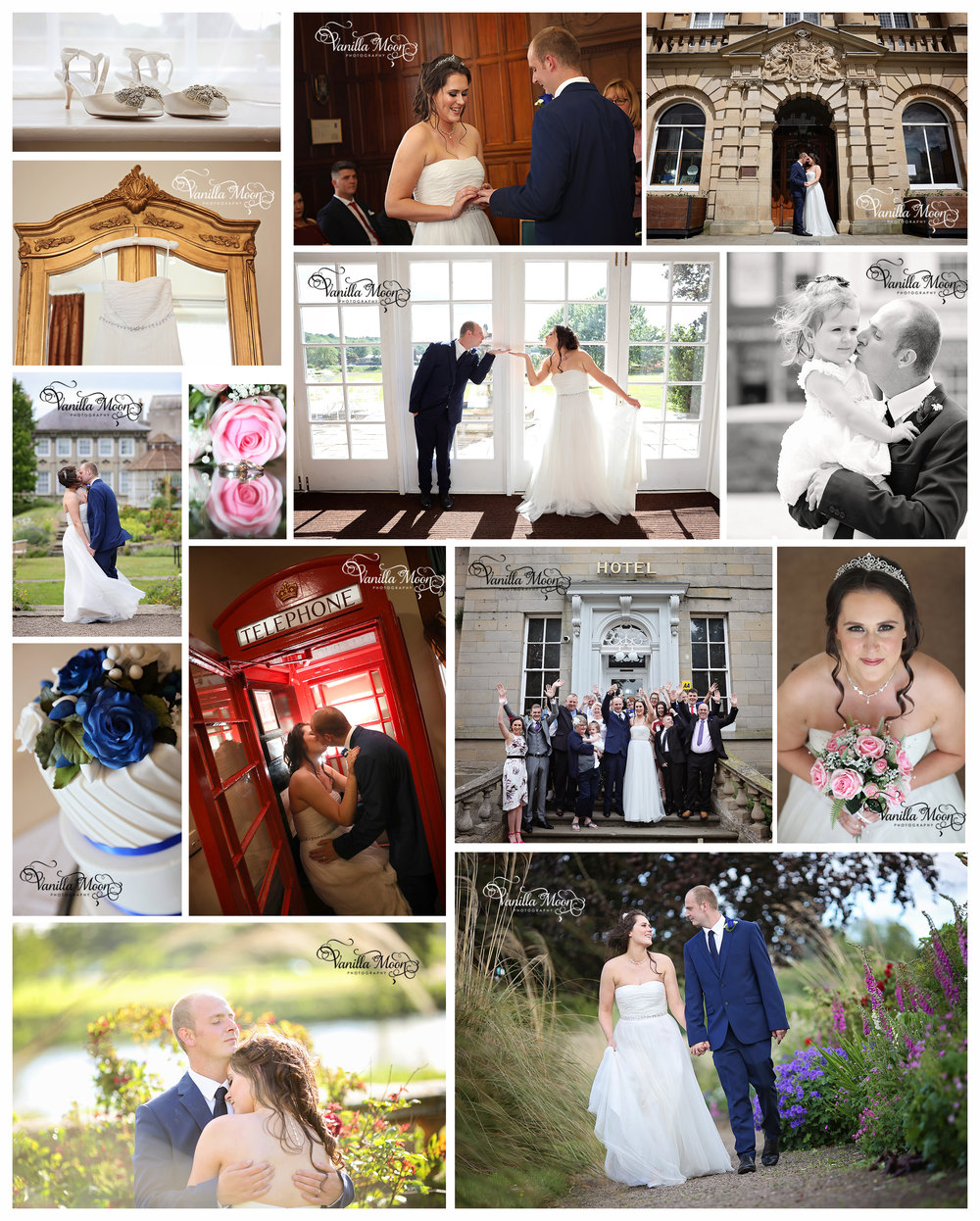 Gorgeous wedding day at Ednam House Hotel, Kelso, Scottish Borders