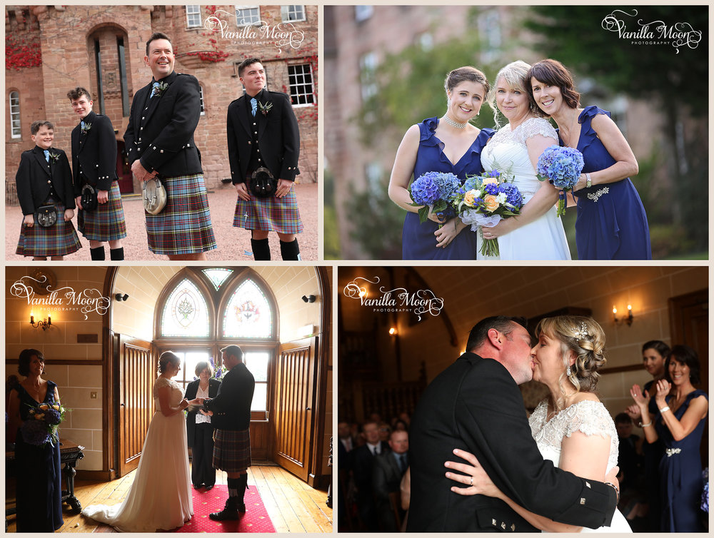 Wedding Photography Scotland, Dalhousie Castle midlothian