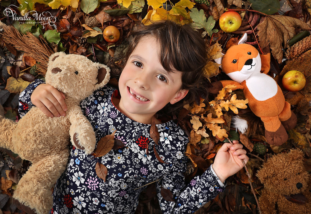 Autumn Portrait Studio Photography Scotland