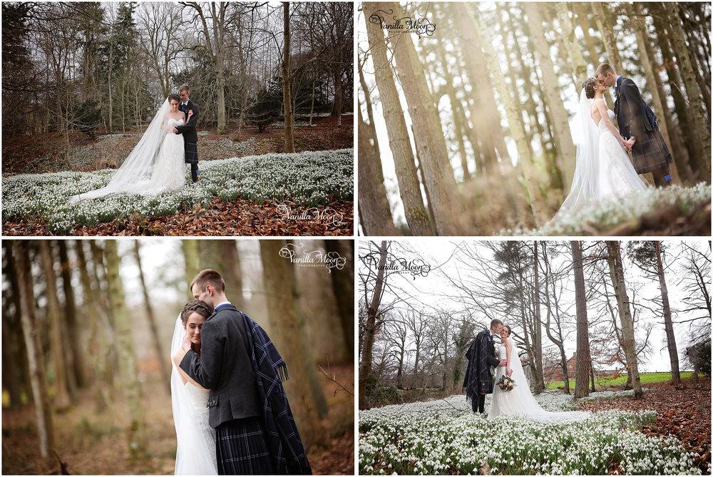 Winter Wedding Photography Scottish Borders