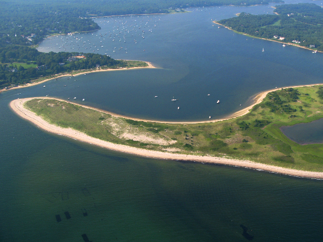 Sampson's Island and Cotuit Bay, MA