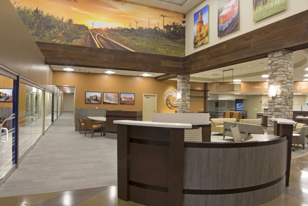 Santa Fe Federal Credit Union Amarillo, TX 13,550 Sq. Ft. New Main Office