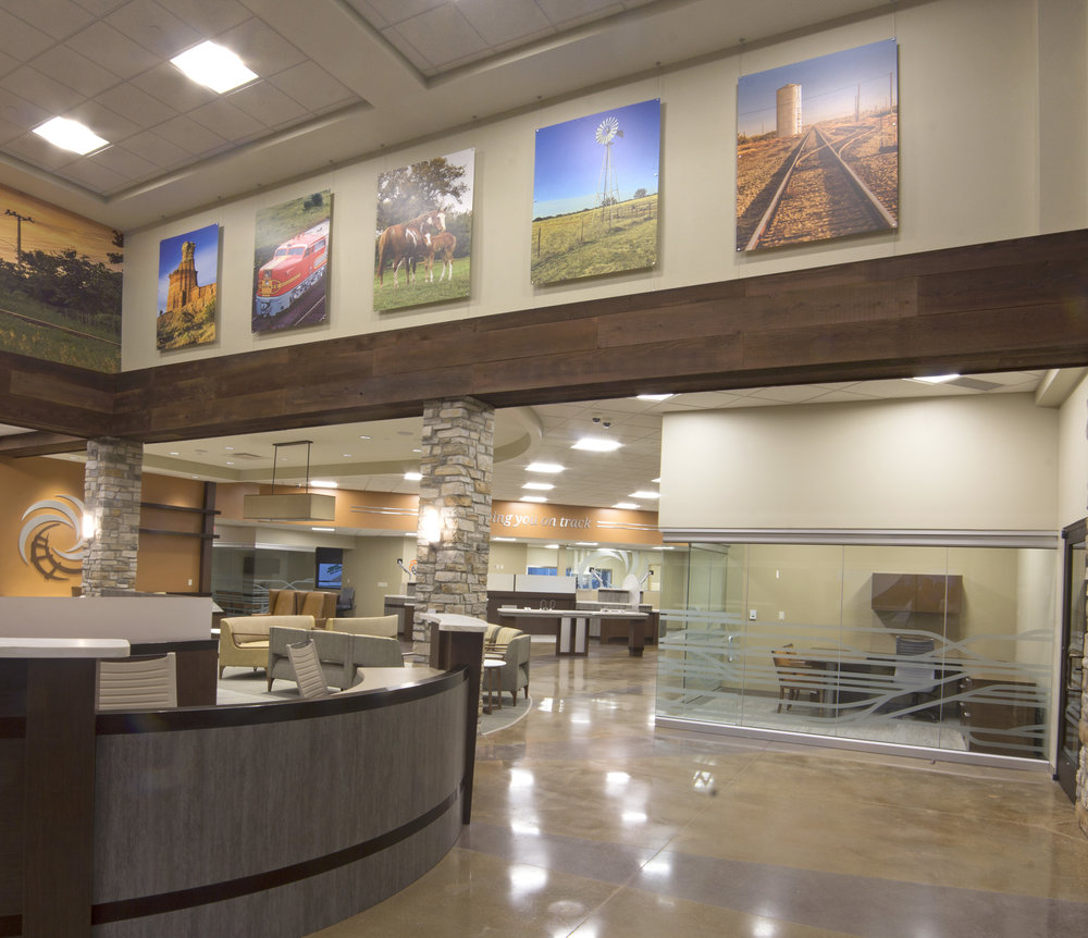 Charmant Santa Fe Federal Credit Union Amarillo, TX 13,550 Sq. Ft. New Main Office