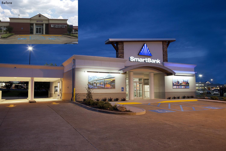 Erstaunlich Smart Bank Beste Wahl Smartbank Chattanooga, Tn Multiple Branch Renovations The