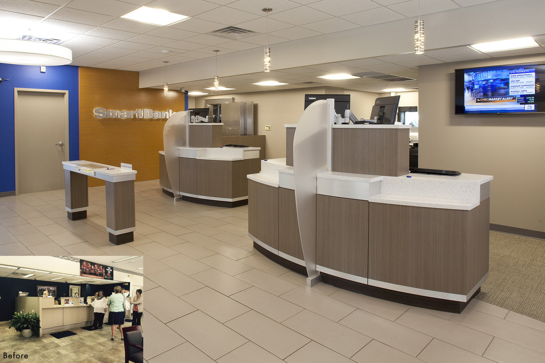 Schön Smart Bank Referenz Von Smartbank Chattanooga, Tn Multiple Branch Renovations The