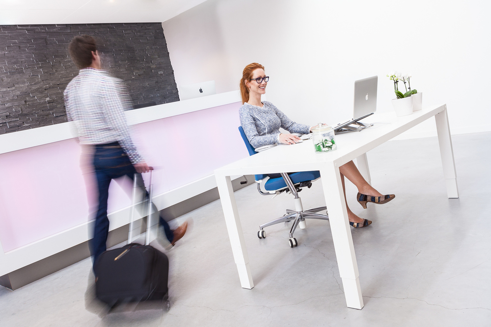Commercial photography  for office interiors manufacturer. Location: Zwolle