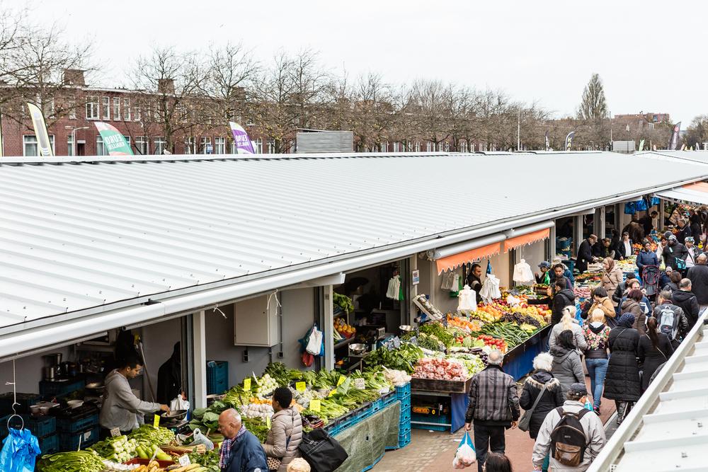 De Haagse Markt na de renovatie