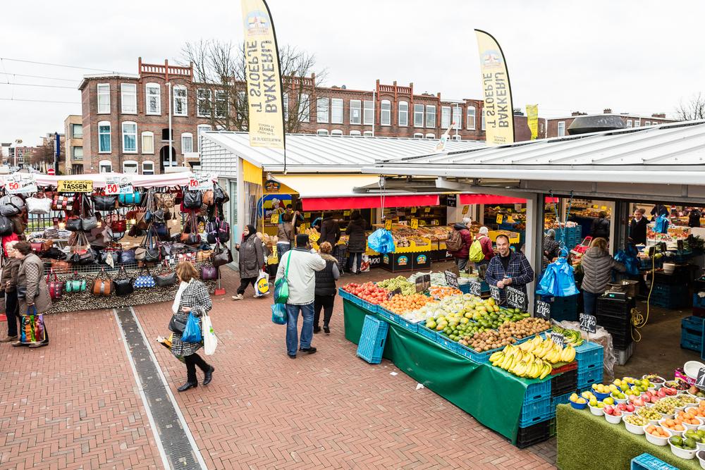 De Haagse Markt na renovatie
