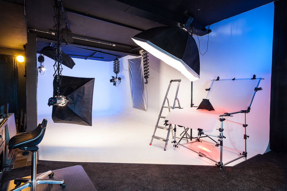 The photostudio of STUDIOVHF