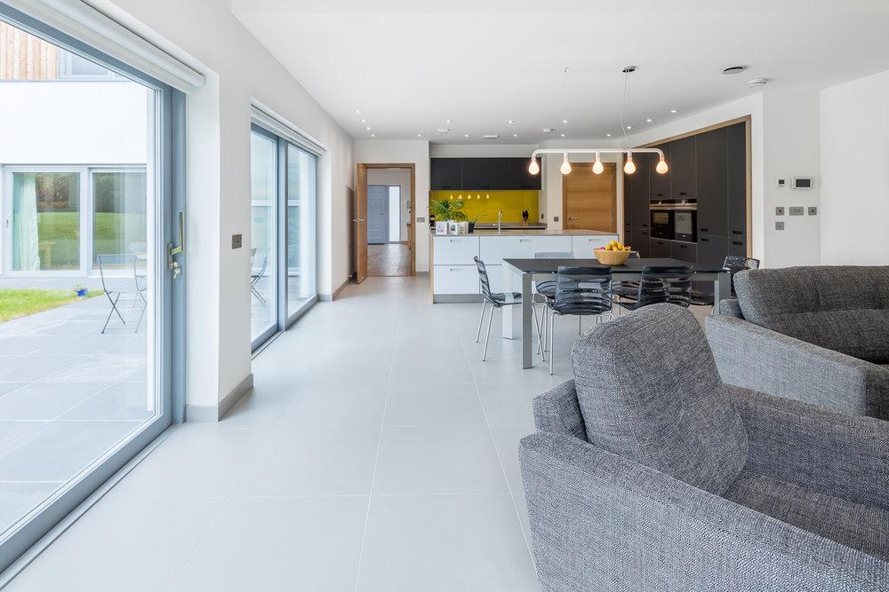 Interior photography new home Edinburgh