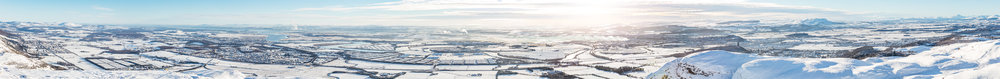 The Foth Valley from Dumyat