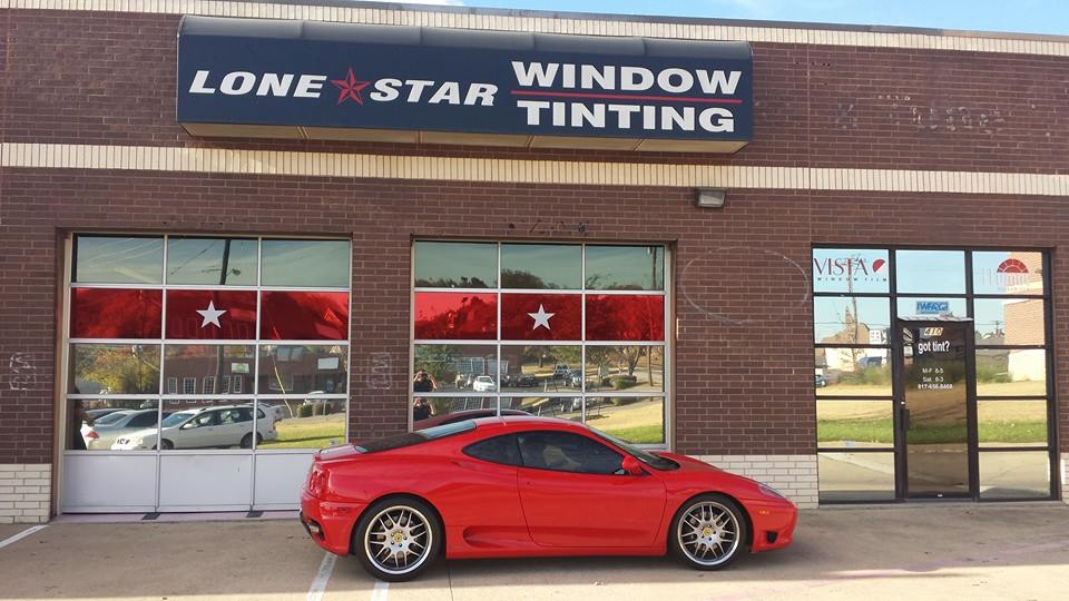 Lone star window tinting for Lone star motors fort worth tx