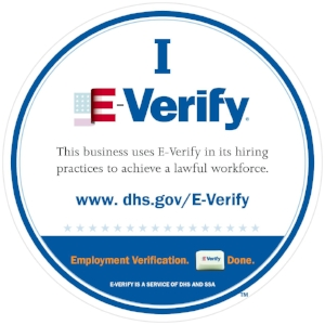 DE LA MATA Enterprises I E-Verify Logo