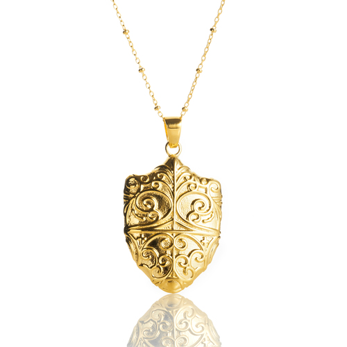 Kyle cavan college of holy cross gates necklace college of the holy cross jewelry shield pendant aloadofball Choice Image