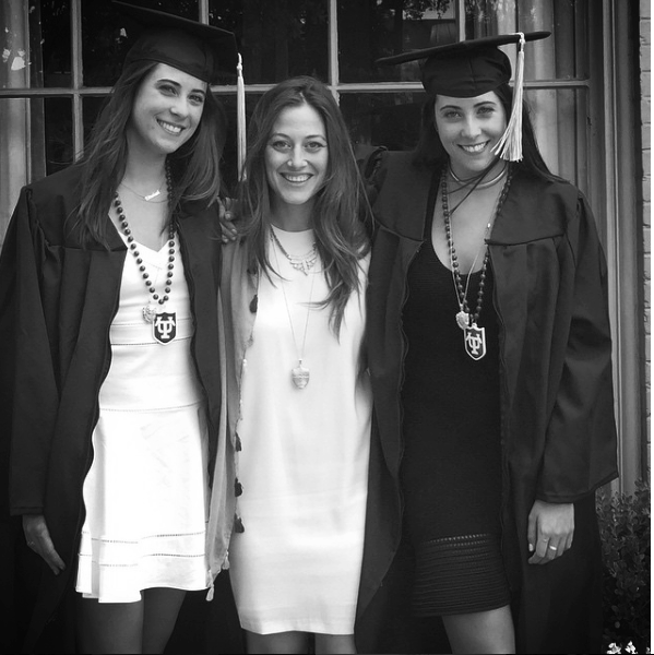 Kyle Garcia + Sisters at Tulane University