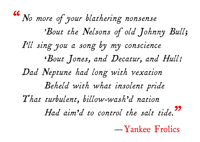 Yankee Frolics quote.png