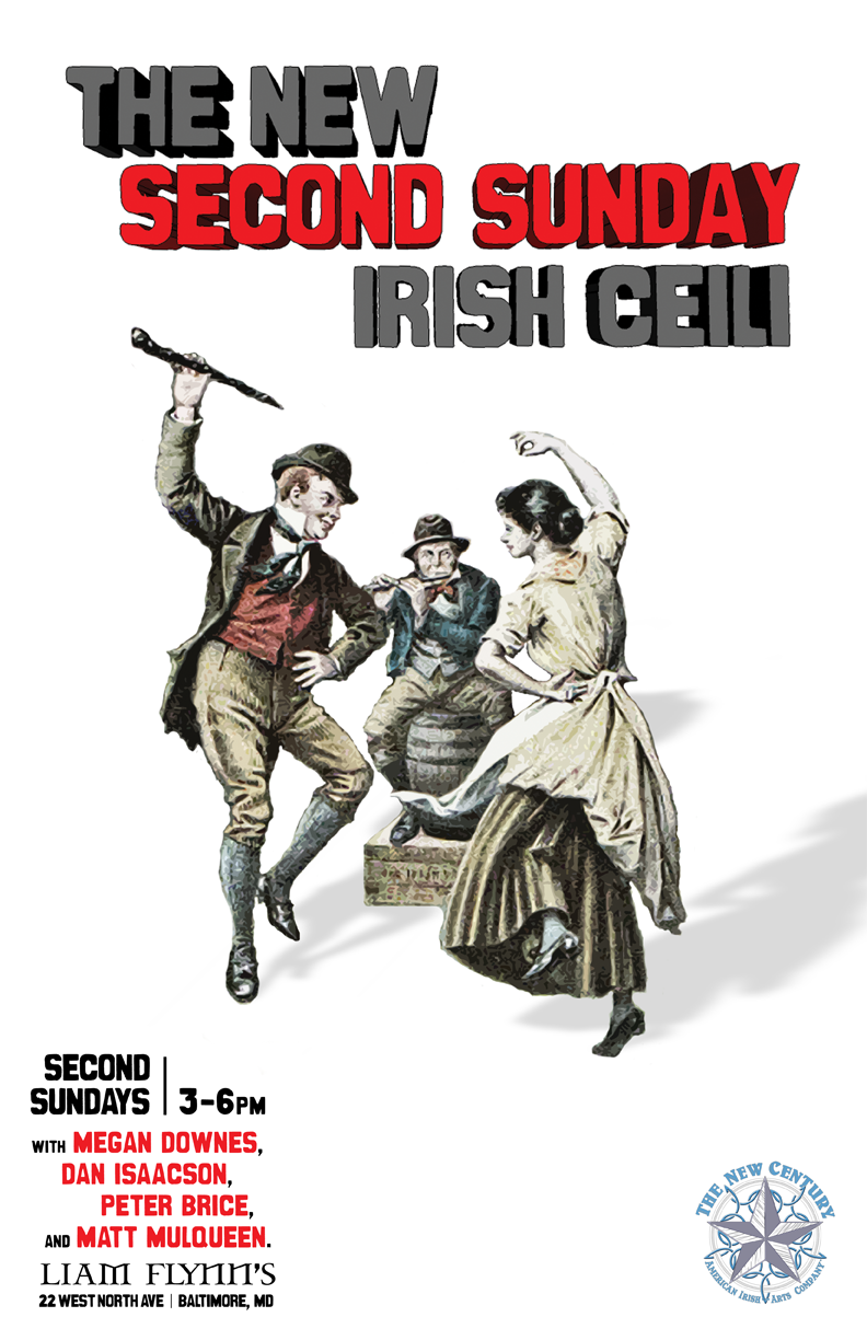 The official poster for the New Second Sunday Irish Ceili.