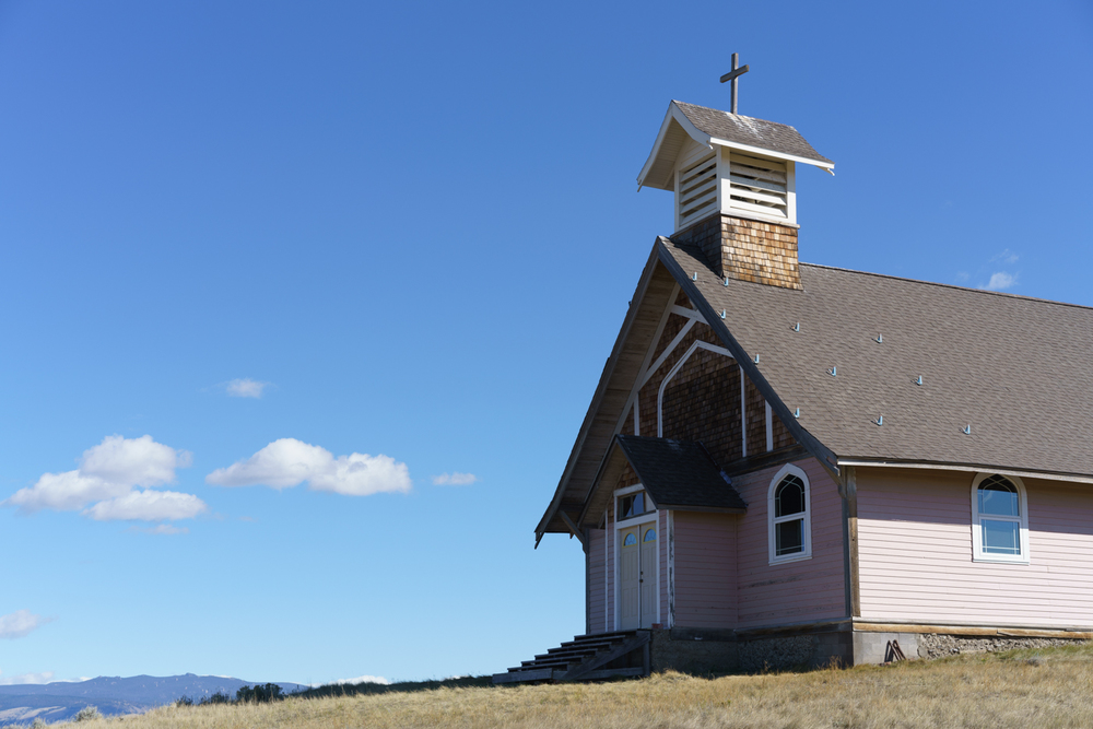 I've passed by this church at Ringling, Montana many times.  On this day the clouds arranged themselves nicely for me...