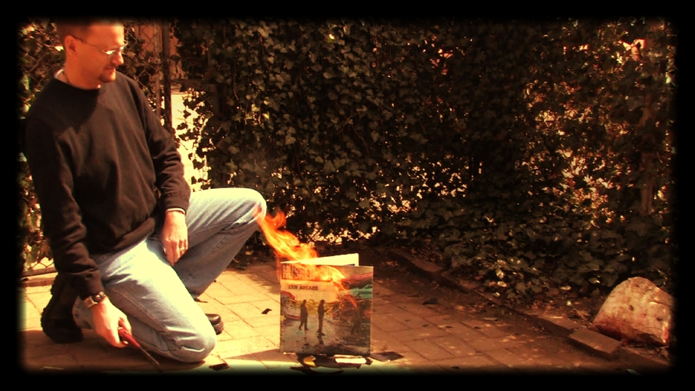 Gregg burning Husker Du.jpg