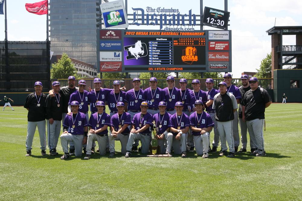 2012 STATE CHAMPIONS  Baseball