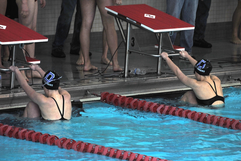 SWIMMING & DIVING     girls history