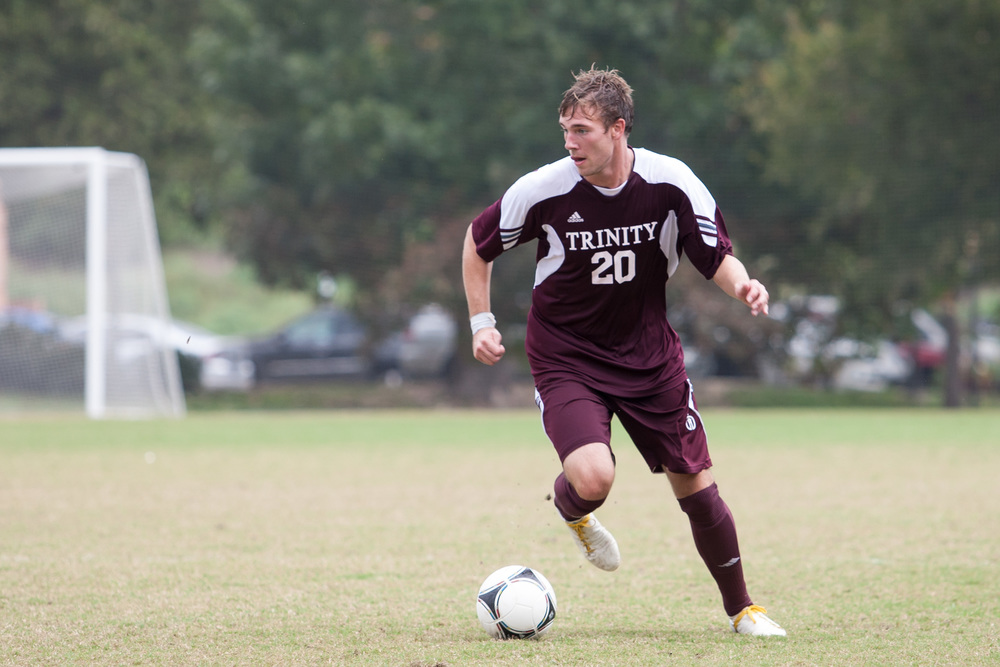 Jeremy Gray '09 Trinity University (photo credit - Joshua Moczygemba / Trinity University)