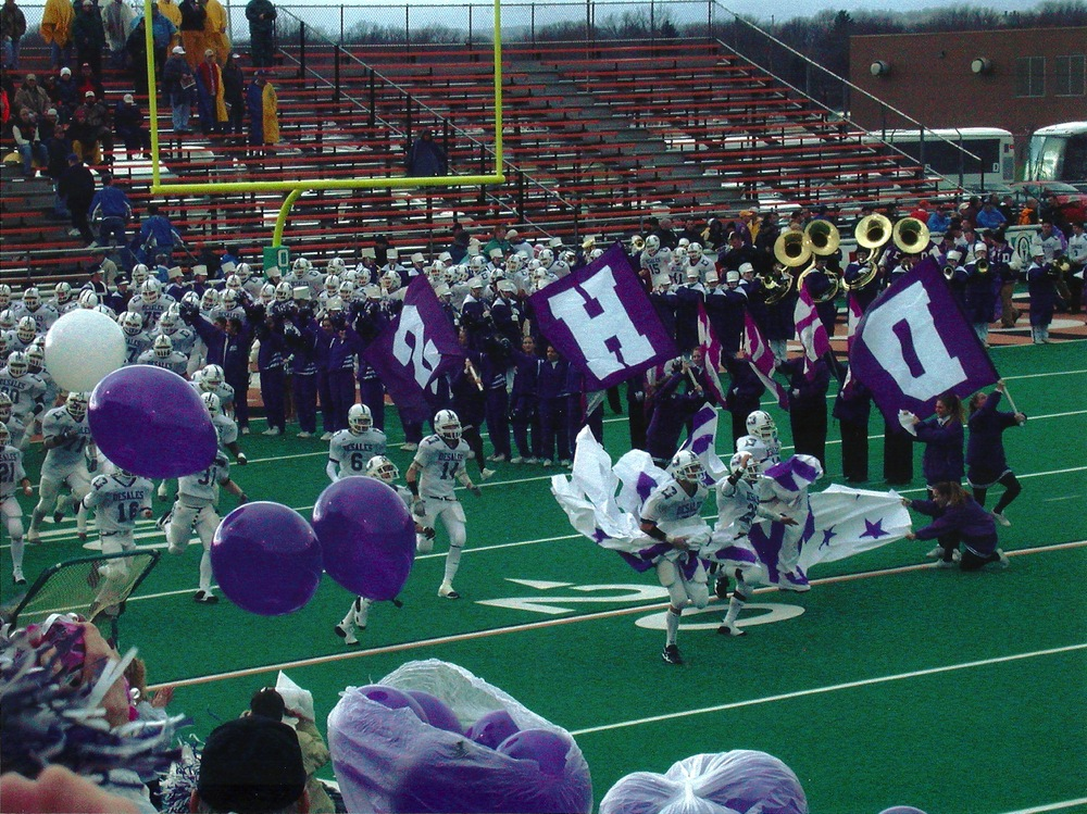 The Stallions take the field in the '01 title game in Massillon