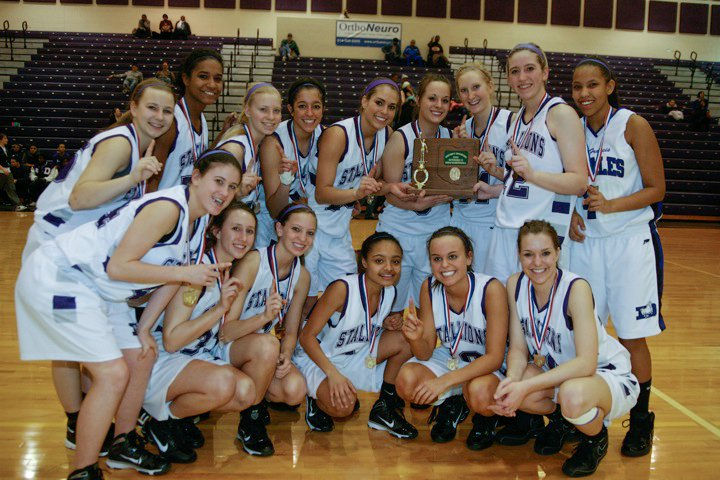 2010 Girls Basketball  (photo credit - Barb Dougherty)