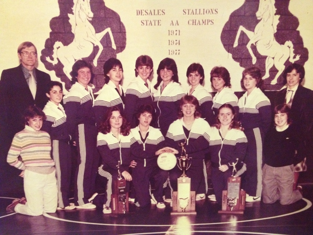 1982 STATE CHAMPIONS  Girls Volleyball