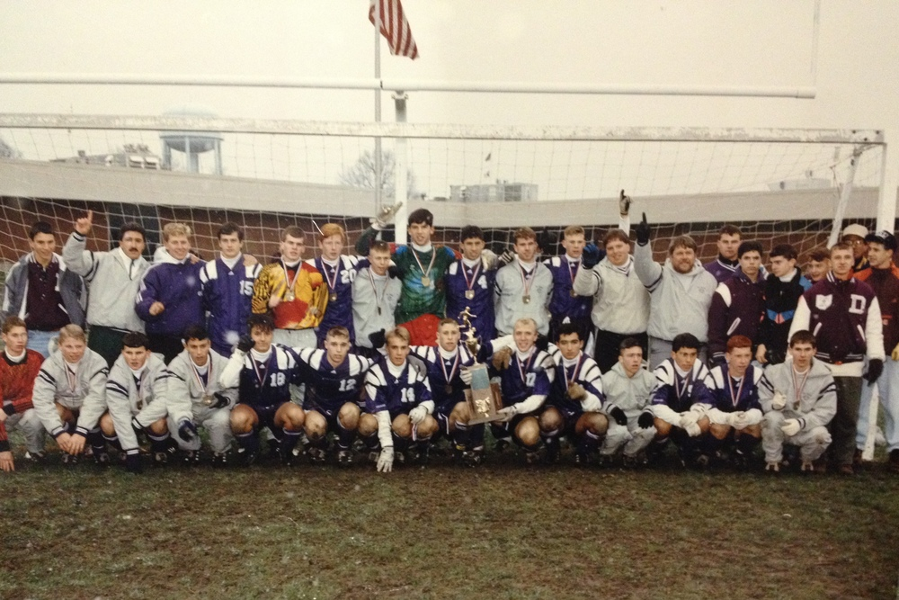 1992 STATE CHAMPIONS  Boys Soccer